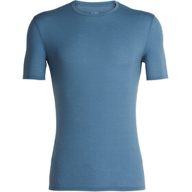 Icebreaker Anatomica Crew Top T-shirt Heren, granite blue